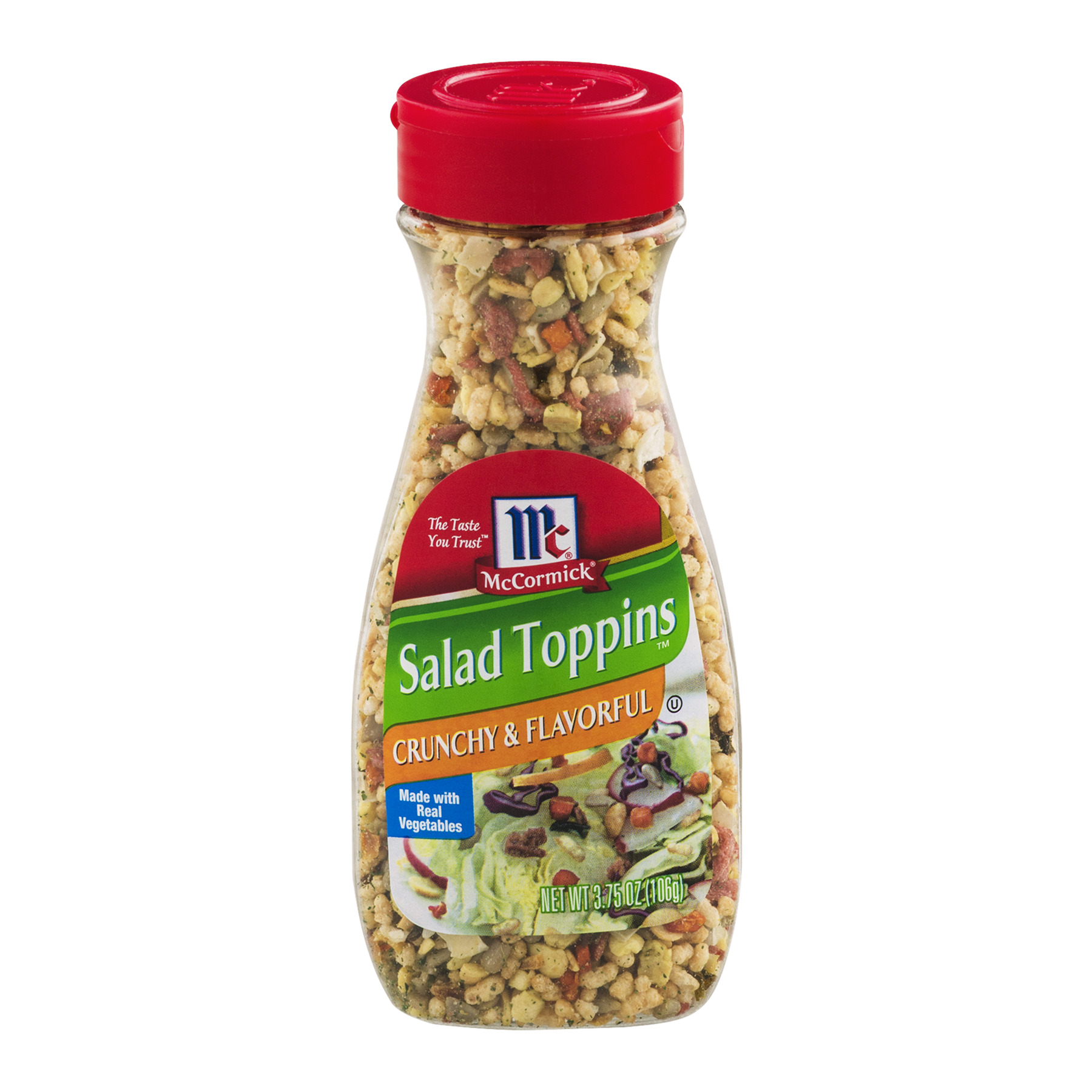 McCormick® Crunchy & Flavorful Salad Toppings, 3.75 OZ