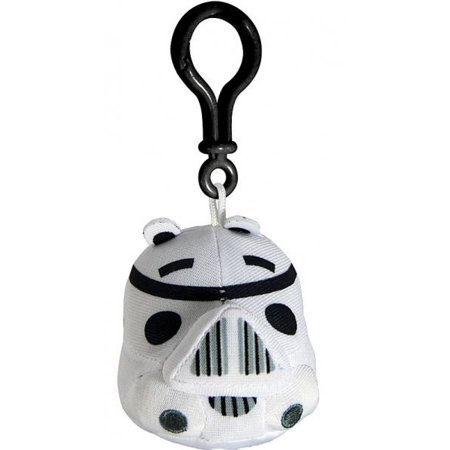 Angry Birds Halloween 3-4 Three Stars (Star Wars Angry Birds Stormtrooper Pig Plush Clip)