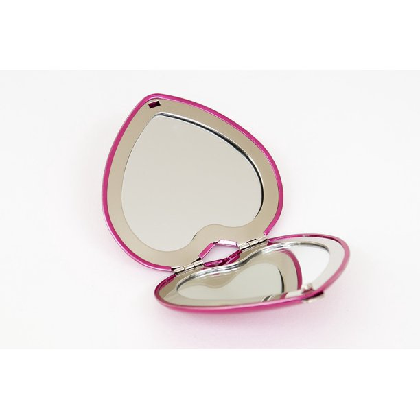 Canvas Print Pink Pocket Mirror Heart