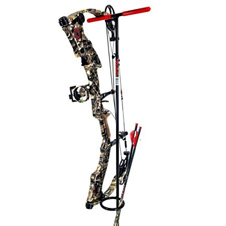 Compound Bow holder | Bow hanger archery stand | Compound bow and arrow holder stand | Solid Steel by My Bow Buddy