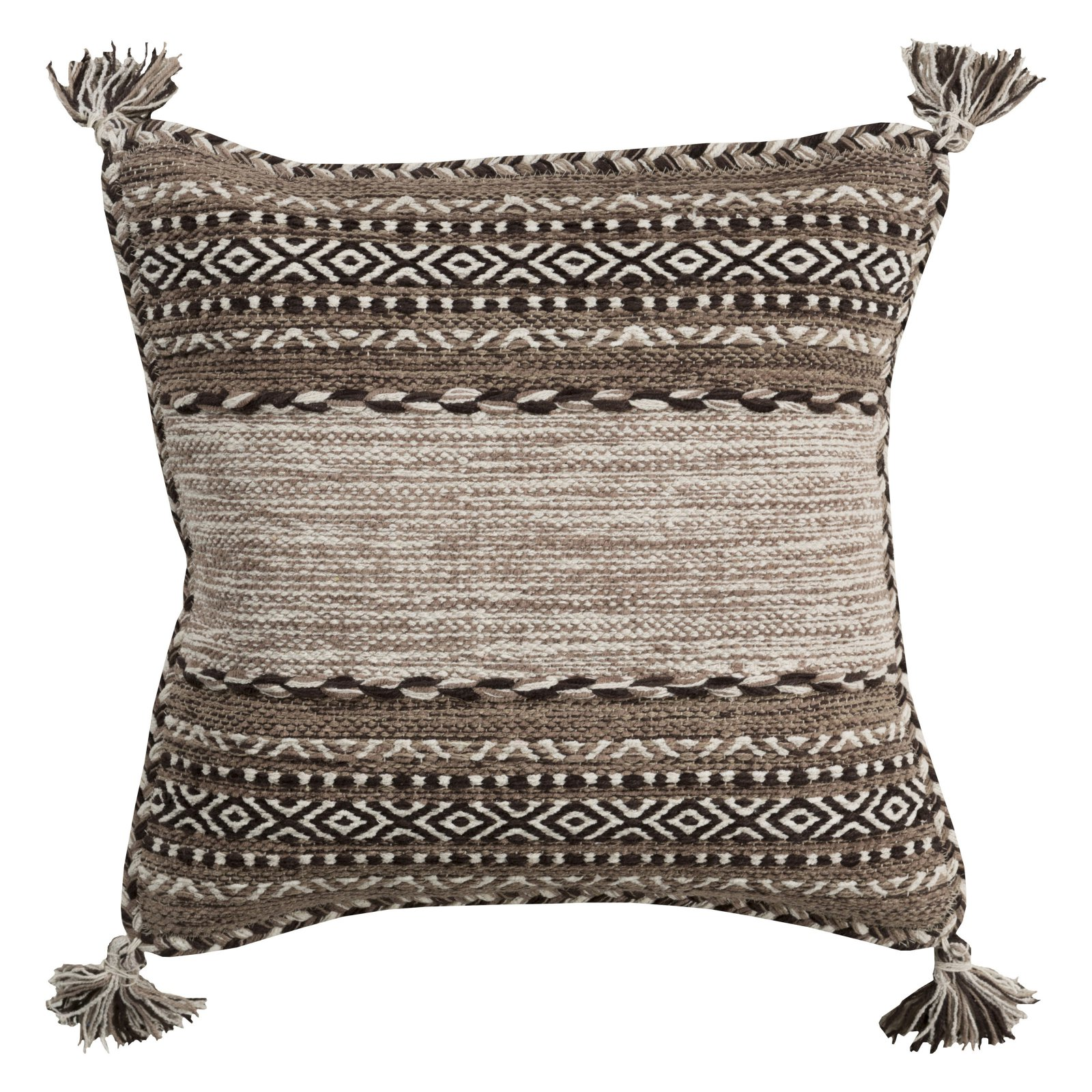Surya Trenza Decorative Throw Pillow