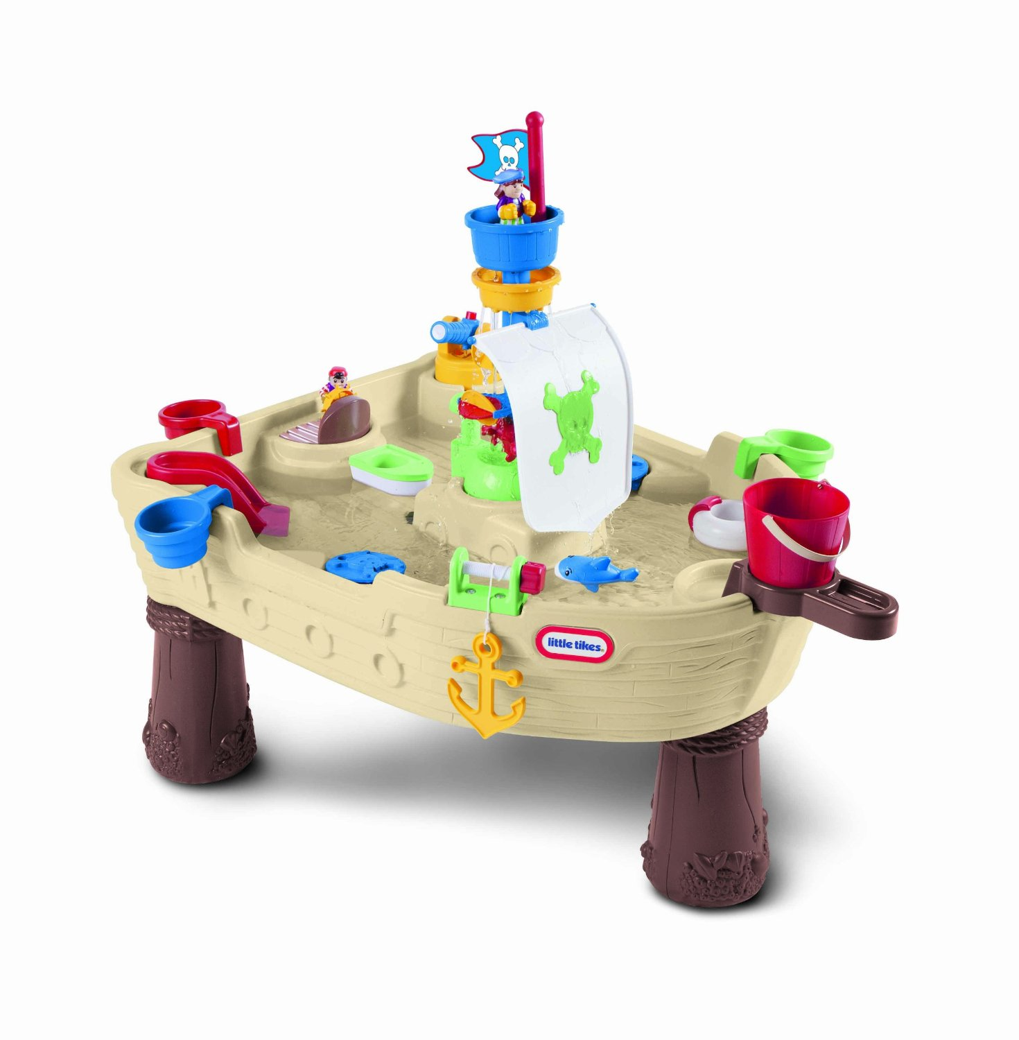 Little Tikes Anchors Away Pirate Ship Outdoor Play Water