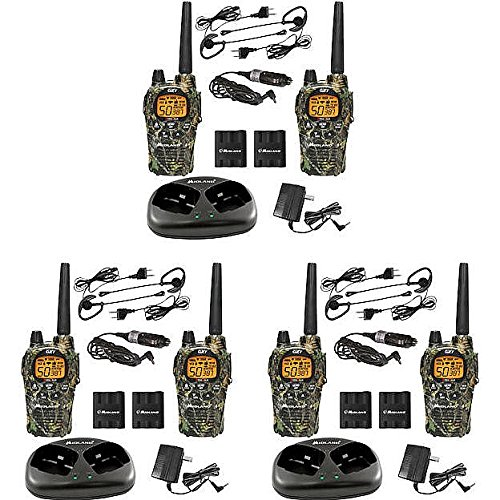 Midland X-TRA TALK GMRS 2-Way Radio with 30-Mile Range by