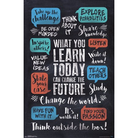 Trends International What You Learn Wall Poster 22.375