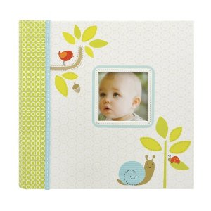 Carters Slim Bound Photo Journal Album, Woodland Multi-Colored