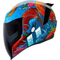 Icon Airflite Inky Motorcycle Helmet Blue