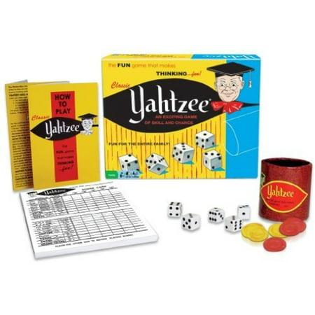 Classic Yahtzee - Halloween Yahtzee
