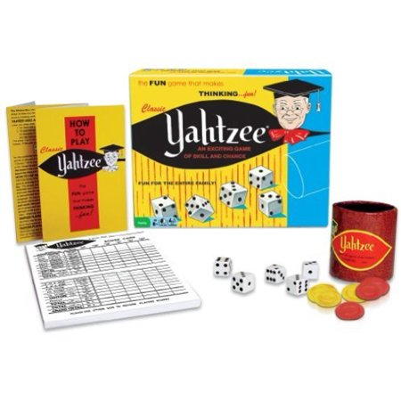 Classic Yahtzee - Lawn Yahtzee