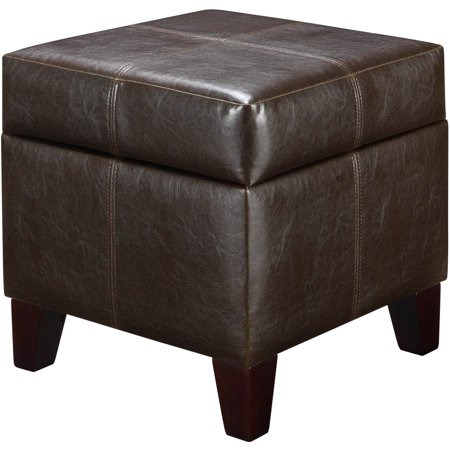 Dorel Living Small Storage Ottoman Multiple Colors