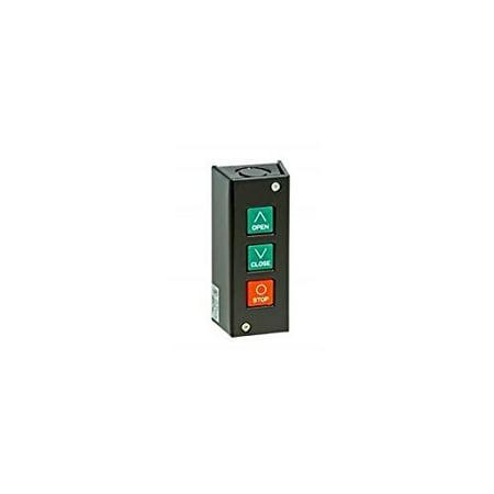 MMTC Commercial Garage Door Opener PBS-3 Three Button Station