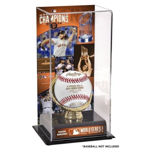 "Madison Bumgarner San Francisco Giants Fanatics Authentic 2014 World Series Champions 10"" x 5.5"" Gold Glove Baseball Display Case - No Size"