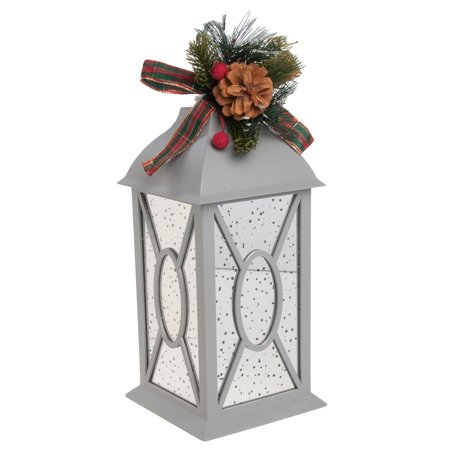 Mr. Christmas 13 Inch Twinkling LED Lantern Battery Operated Christmas Decorations Outdoors Decorative Lanterns For Indoors ()