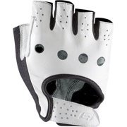 Bellwether Men's Heritage Cycling Glove: White LG