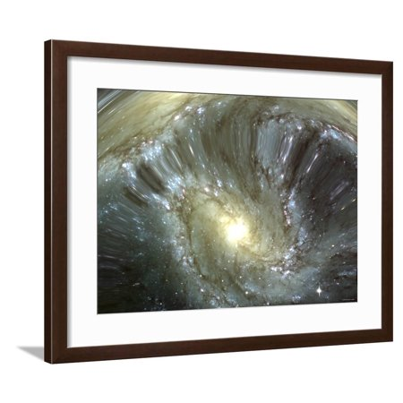 Free Altered Art Images (Digitally Altered Galaxy Framed Print Wall Art By Stocktrek)