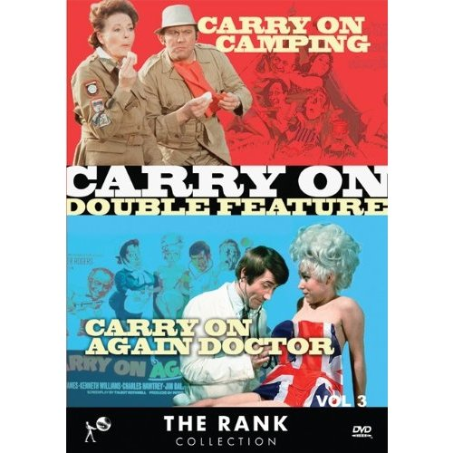 Carry On Double Feature: Volume Three Carry On Camping   Carry On Again Doctor (Widescreen) by VIDEO COMMUNICATIONS INC