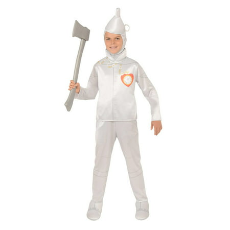 Boys Tin Man Oz Halloween Costume](Wizard Of Oz Costumes Tin Man)