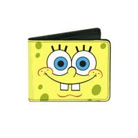Size one size Kid's Sponge Bob Square Pants Billfold Wallet