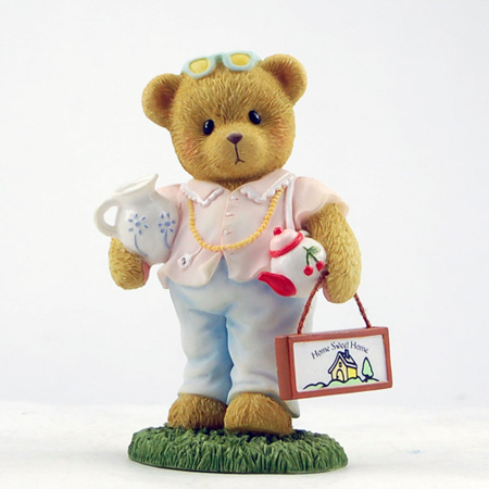 Cherished Teddies Girl with Teapot Amy 2013 (Cherished Teddies Girl)