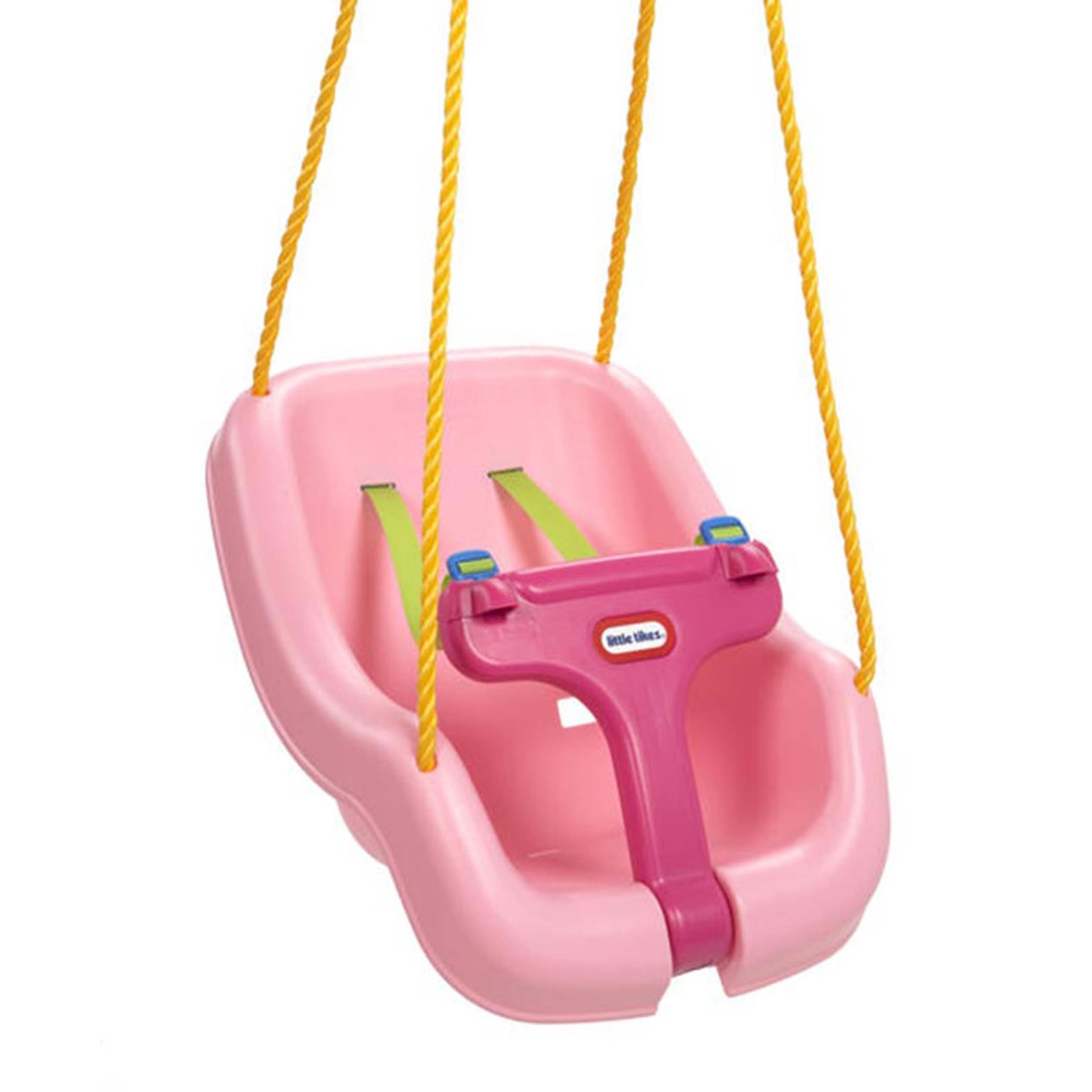 Little Tikes 2-in-1 Snug 'n Secure Swing - Pink (Brown Box)