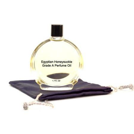 Egyptian Honeysuckle Perfume Oil - 1.7 oz in Premium Glass Bottle