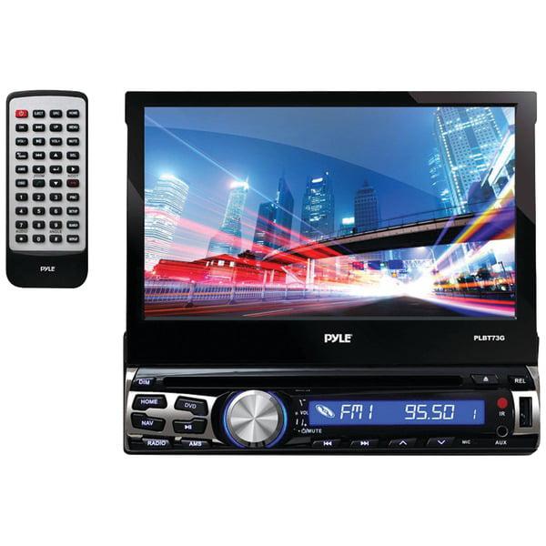 "Pyle PLDT87BT 7"" Single-DIN In-Dash Motorized Touchscreen..."