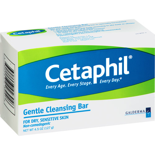 Cetaphil Daily Cleansing Bar, 4.5 oz