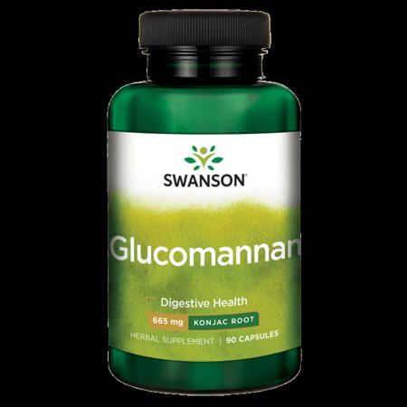 Swanson Glucomannan 665 mg 90 Caps