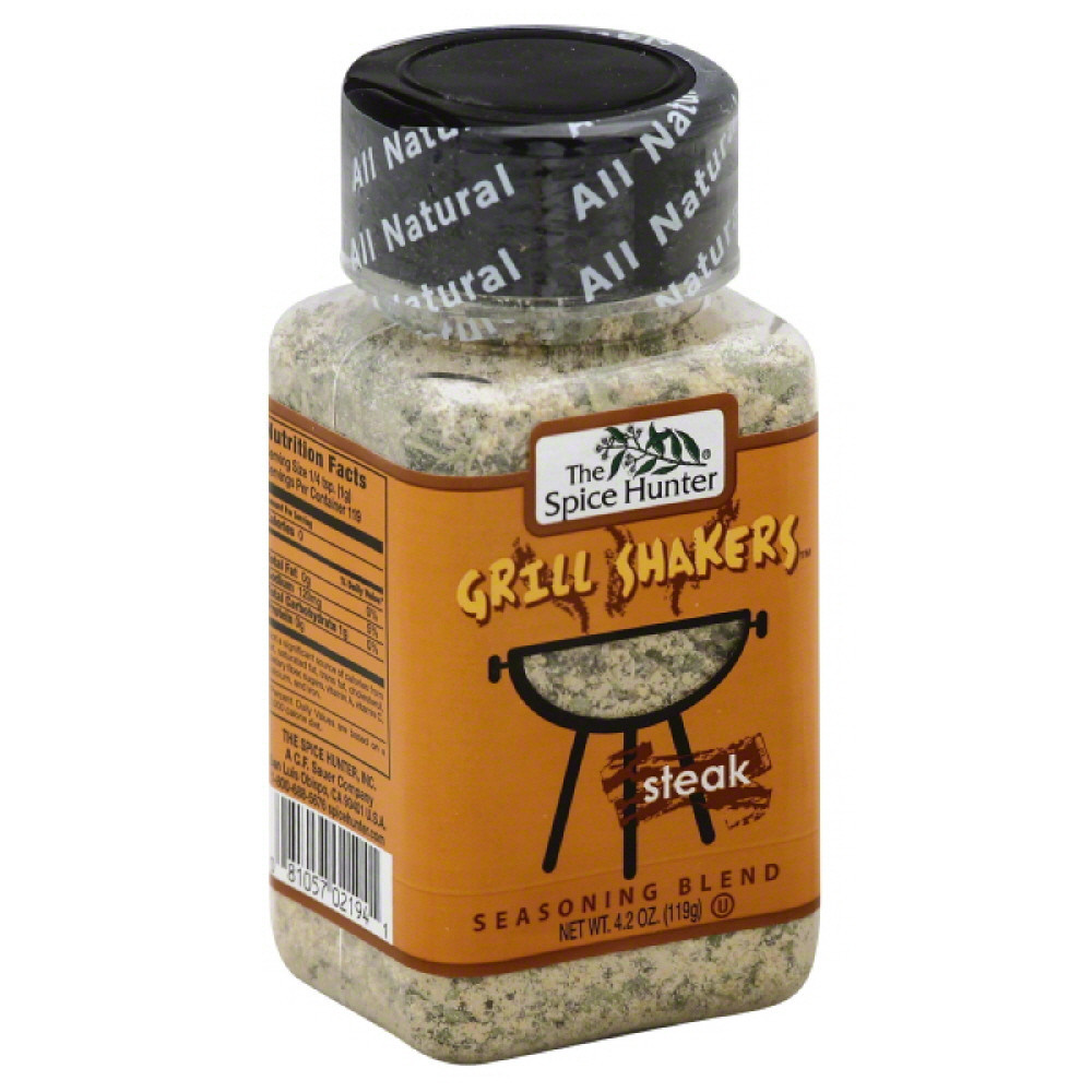 Spice Hunter Steak Seasoning Blend, 4.2 Oz (Pack of 6)