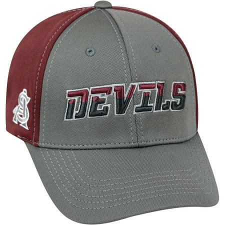 University Of Arizona State Sun Devils Grey Two Tone Baseball Cap (Arizona State University Halloween)