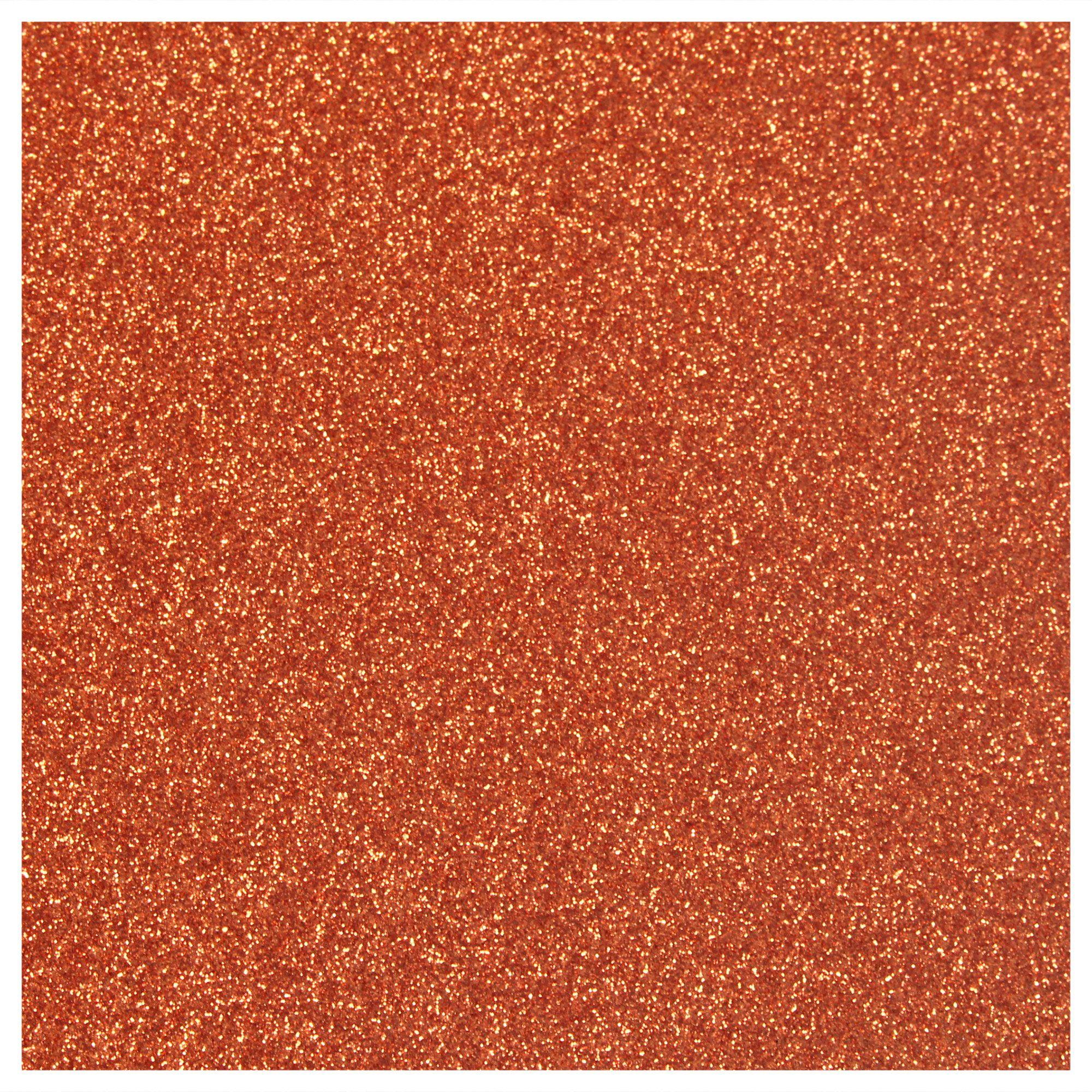 Siser Glitter Heat Transfer Material - Copper