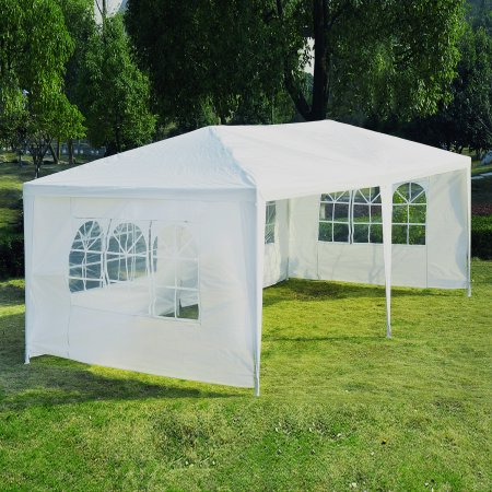 Zimtown 10u0027 X 20u0027Outdoor Canopy Party Wedding Tent Heavy duty Cater Events Gazebo & Zimtown 10u0027 X 20u0027Outdoor Canopy Party Wedding Tent Heavy duty ...