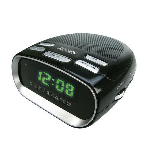 Jensen Phone Charging Dual Alarm Clock R