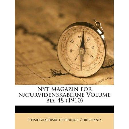Nyt Magazin For Naturvidenskaberne Volume Bd  48  1910