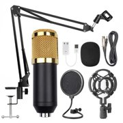 BM800 Professional Suspension Microphone Kit Live Broadcasting Recording Condenser Microphone Set