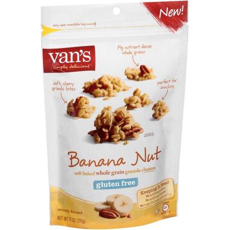 ... Simply Delicious Gluten Free Banana Nut Granola 11 oz. Bag
