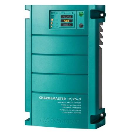 Mastervolt Chargemaster 25 Amp Battery Charger 3 Bank 12V