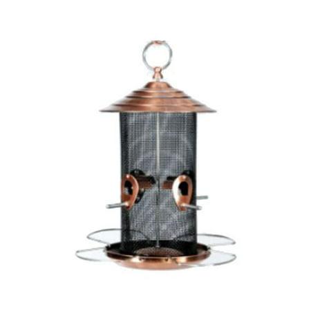 Woodlink NABCN Copper Mixed Seed Bird Feeder