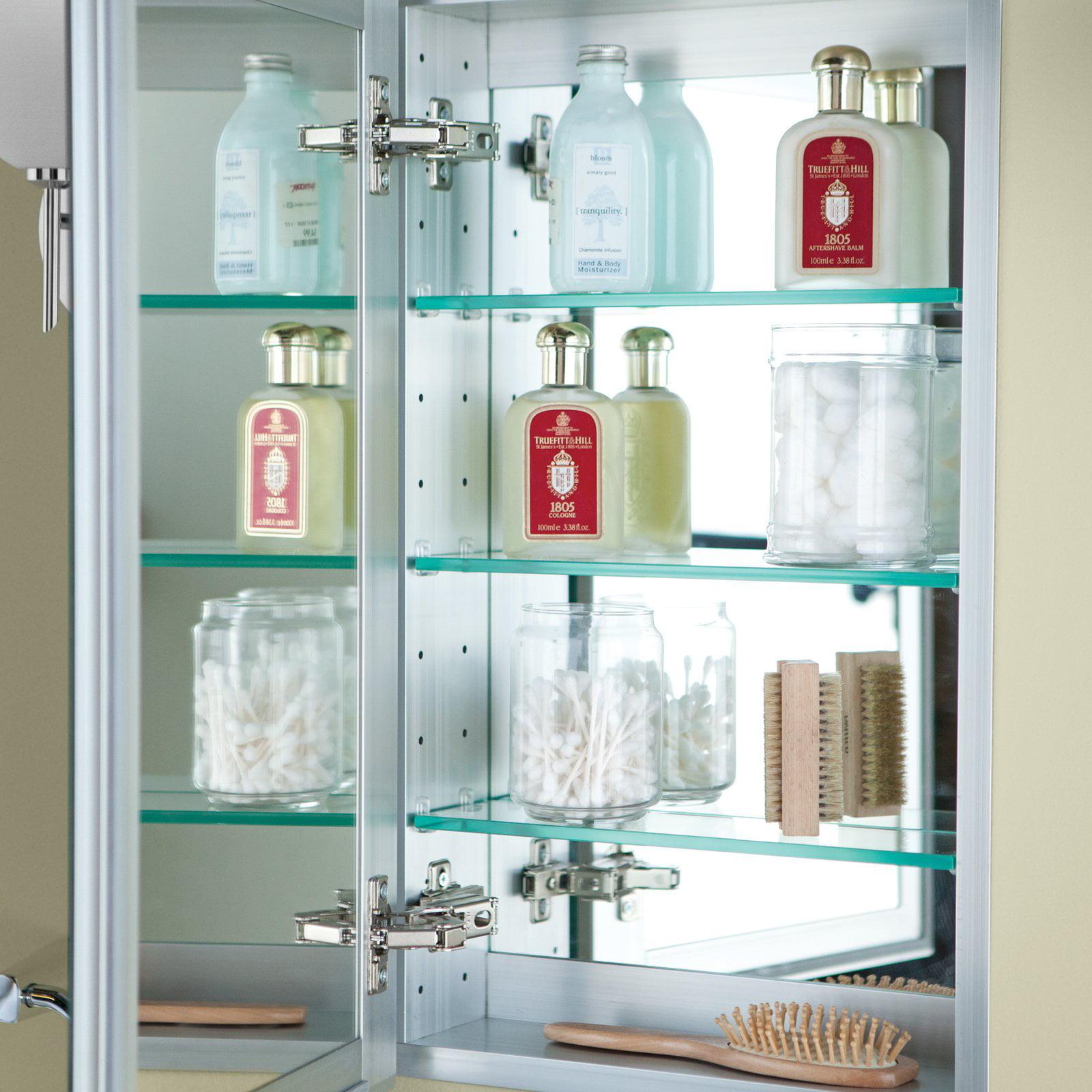 Afina Broadway Recessed Single Door Medicine Cabinet - Walmart.com