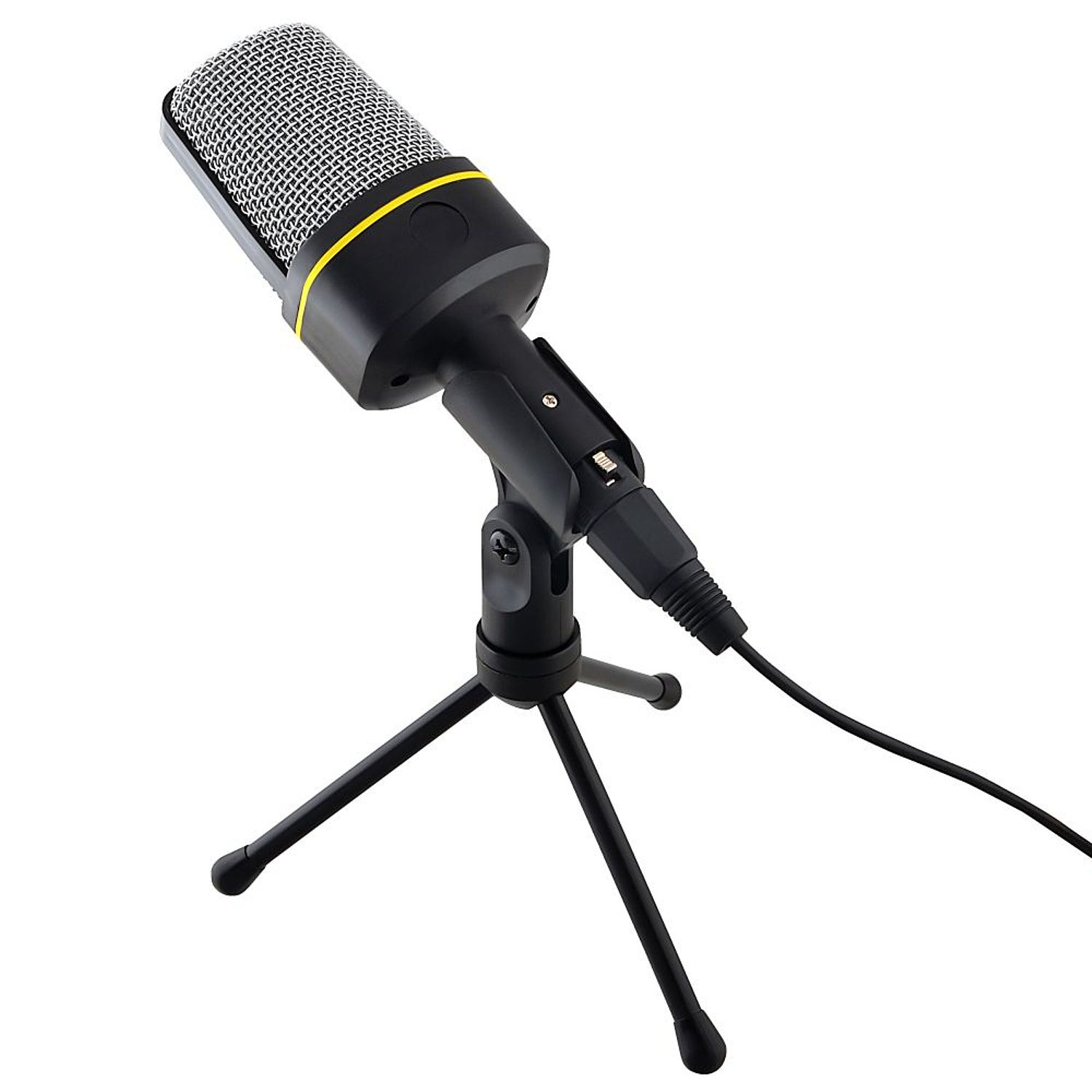 Insten 3.5mm Studio Professional Microphone Mic with Stand For Audio Sound Recording Skype... by
