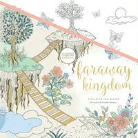 "KaiserColour Perfect Bound Coloring Book 9.75""X9.75""-Faraway Kingdom"