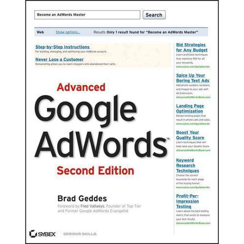 Advanced google adwords walmart com