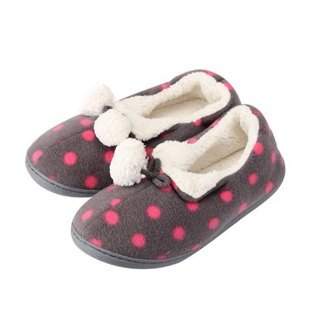 Women Home Hairball All-inclusive Warm Pregnant Women Shoes CO/M