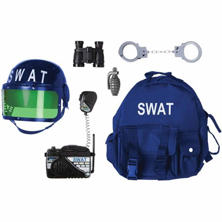 Gear to Go SWAT Adventure Play Set Halloween Costume Accessory - Halloween Costume Sets