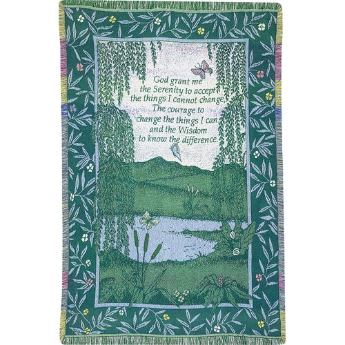 Manual Woodworkers & Weavers Serenity 2.5 Layer Cotton Throw