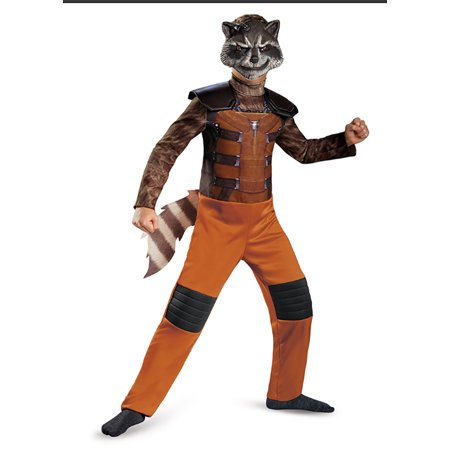 Child Marvel Guardians Of The Galaxy Rocket Raccoon Costume by Disguise - Kids Raccoon Costume