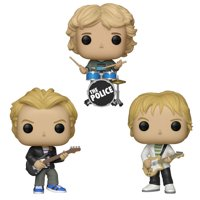 Funko POP! Rocks - The Police Vinyl Figures - SET OF 3 (Sting, Andy Summers & Stewart Copeland)