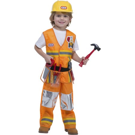 Diy Construction Worker Halloween Costume (Little Tikes Workplace Construction Worker Toddler Costume With)