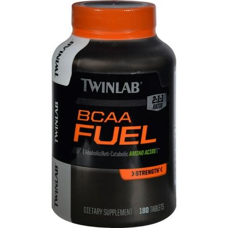 Twinlab BCAA Fuel Tablets, 180ct
