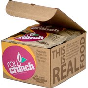 Raw Crunch Bars Organic Cranberry + Orange -- 12 Bars pack of 1