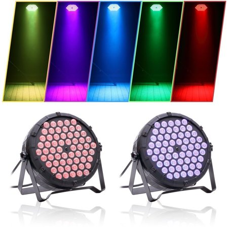 Stage Light, Super Bright Lights Mixing DJ Up lighting, Best for Wedding/Birthdays/Christmas Party Show Dance Gigs Bar Club